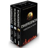 Divergencia (kolekcia troch titulov v brožovanej väzbe) Divergencia + Rezistencia + Experiment