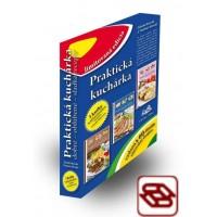 Praktická kuchárka – sada 3 kníh