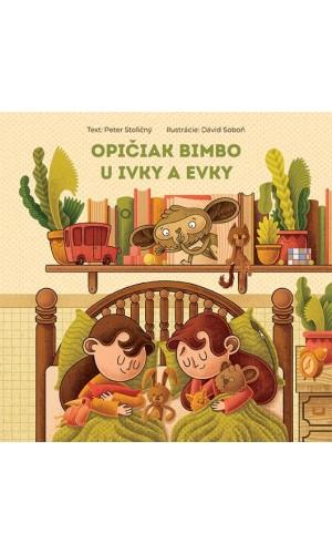 Opičiak Bimbo u Ivky a Evky