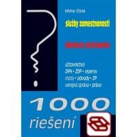 1000 riešení 2/2020 - Služby zamestnanosti, Daňové priznania - Účtovníctvo, rezervy, ZDP, DPH, Mzdy a odvody, Zákonník práce, Verejná správa