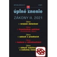 Zákony 2021 II aktualizácia II 1 - Verejné obstarávanie, konkurz, reštrukturalizácia a exekúcie