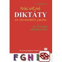 Nácvičné diktáty zo slovenského jazyka pre 2. ročník základných škôl