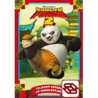 Kung Fu Panda 2 - Filmový príbeh so samolepkami