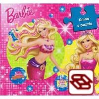 Barbie: Kniha s puzzle