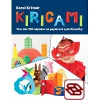 Kirigami. Viac ako 100 nápadov na papierové vystrihovačky