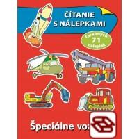 Špeciálne vozidlá - Čítanie s nálepkami