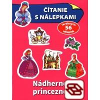 Čítanie s nálepkami - Nádherné princezné