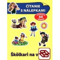 Čítanie s nálepkami - Škôlkari na výlete