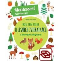 Moja prvá kniha o lesných zvieratkách (Montessori : Svet úspechov)