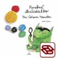 Farebné strašidielko / The Colour Monster - kniha + maľovanka / book + colouring book