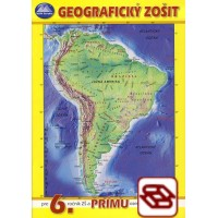 Geografický zošit pre 6. ročník ZŠ a prímu osemročných gymnázií