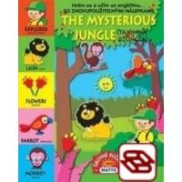 The mysterious jungle (Tajomná džungľa) - Hrám sa a učím sa angličtinu... (So znovupoužiteľnými nállepkami)