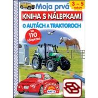 Moja prvá kniha s nálepkami: O autách a traktoroch - so 110 nálepkami