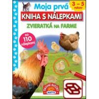 Moja prvá kniha s nálepkami: Zvieratká na farme - so 110 nálepkami