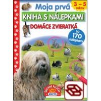 Moja prvá kniha s nálepkami: Domáce zvieratká - so 170 nálepkami