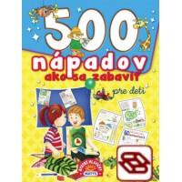 500 nápadov ako sa zabaviť pre deti