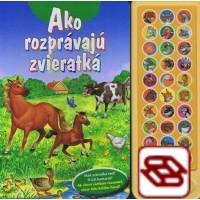 Ako rozprávajú zvieratá - zvuková knižka