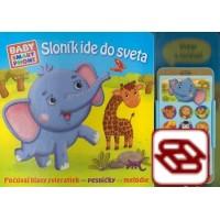 Sloník ide do sveta - Počúvaj hlasy zvieratiek - pesničky - melódie