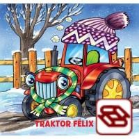 Traktor Félix pomáha