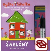 Myška Šikuľka - Šablóny - Učeníe umením