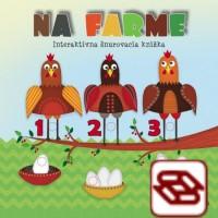Na farme - Interaktívna šnurovacia knižka