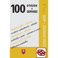 100 otázok a odpovedí – BOZP a Zákonník práce - Príklady z praxe - Bezpečnosť a ochrana zdravia pri práci