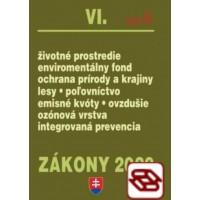Zákony 2020 VI. A - Životné prostredie – Úplné znenie k 1.1.2020 (Životné prostredie, Environmentálny fond, Ochrana prírody a krajiny, Lesy, Poľovníctvo, Emisné kvóty, Ovzdušie)