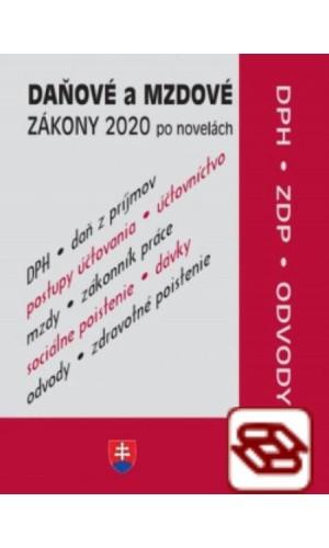 Daňové zákony 2020 (Daňové a mzdové zákony po novelách)