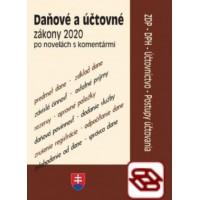 Daňové a účtovné zákony 2020 - po novelách s komentármi
