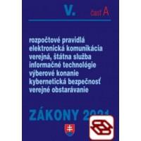 Zákony 2021 V. A - Verejná správa – Úplné znenie po novelách k 1. 1. 2021 (Rozpočtové pravidlá, verejná služba, elektronická komunikácia, verejné obstarávanie, informačné technológie)