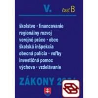 Zákony 2021 V. B - Školstvo, Obce
