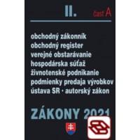 Zákony 2021 II. A - Obchodné právo a živnostenský zákon