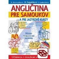 Angličtina pre samoukov a jazykové kurzy + 2 CD - Učebnica s dialógmi a frázami