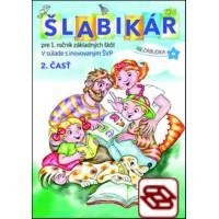 Šlabikár 1 (2. diel) - Učebnica pre 1. ročník ZŠ