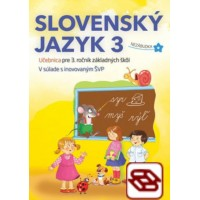 Slovenský jazyk 3 - Učebnica pre 3. ročník ZŠ