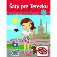 Šaty pre TEREZKU - Kniha samolepiek