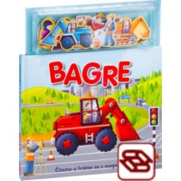 BAGRE - Knižka s magnetkami