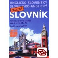 Anglicko-slovenský a slovensko-anglický školský slovník - Povinná slovná zásoba pre úrovne A1 a A2