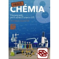 Hravá chémia 8 - Pracovný zošit pre 8. ročník ZŠ a terciu GOŠ