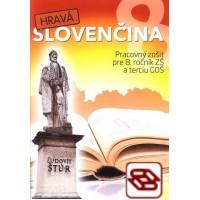 Hravá slovenčina 8 - Pracovný zošit pre 8. ročník ZŠ